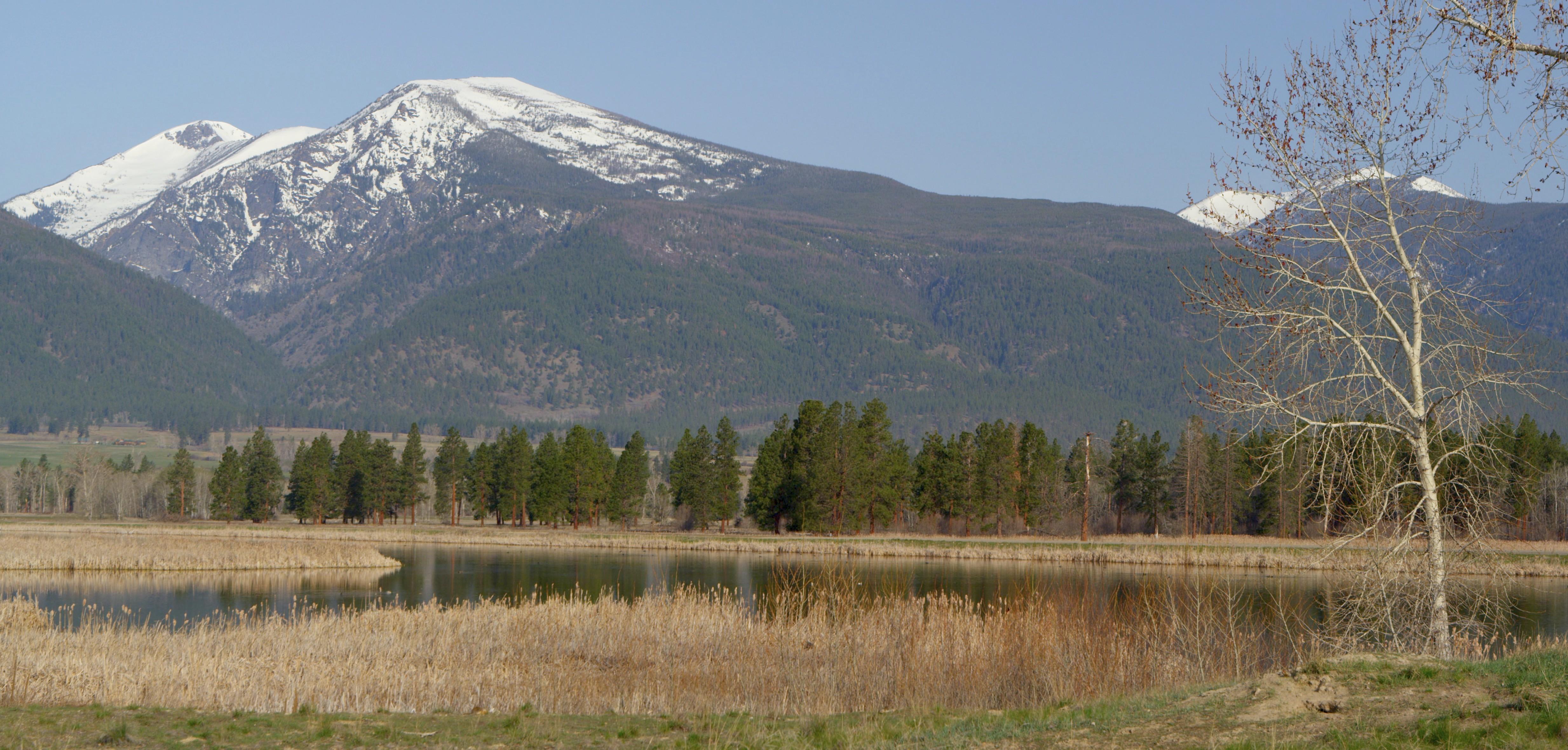 Mountains, National Bison Range, Moise, Montana