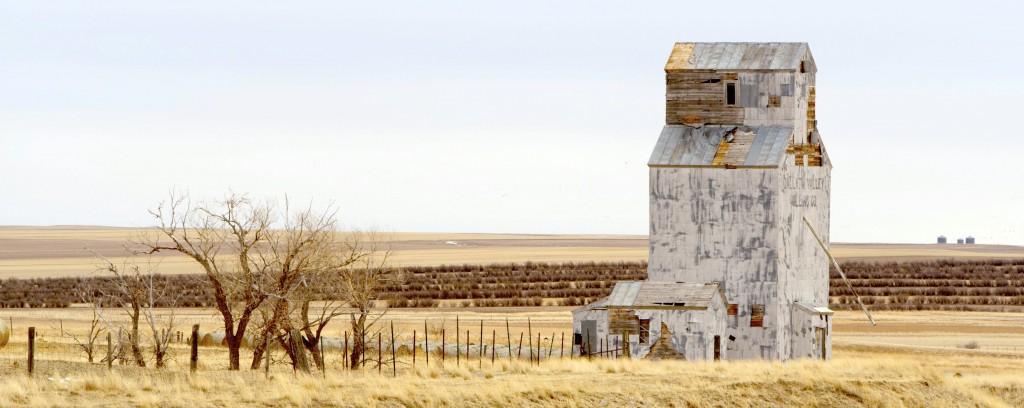 Grain Elevator near Freezout Lake