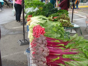 Various veggies--The Clark Fork Market, Missoula