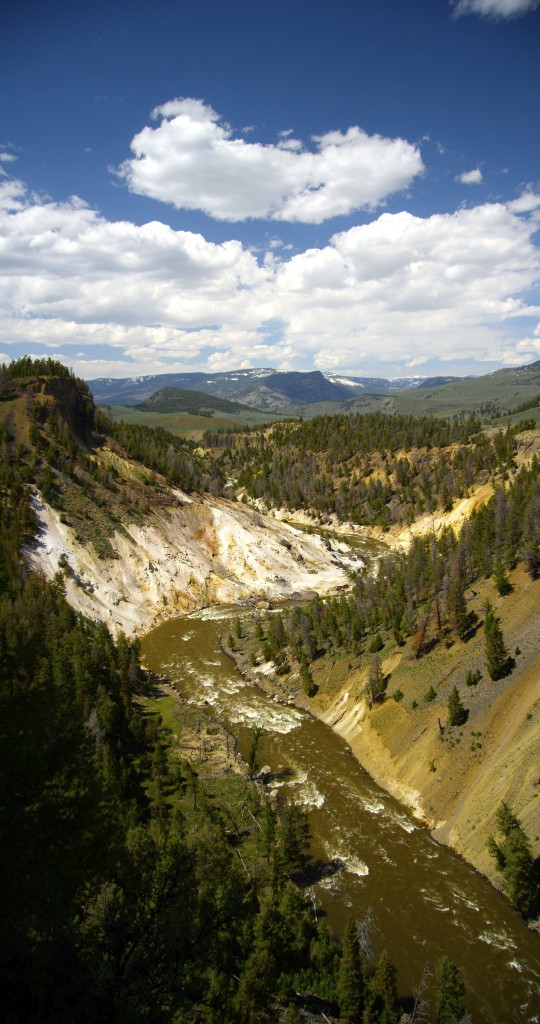 Grand Canyon of the Yellowstone, YNP