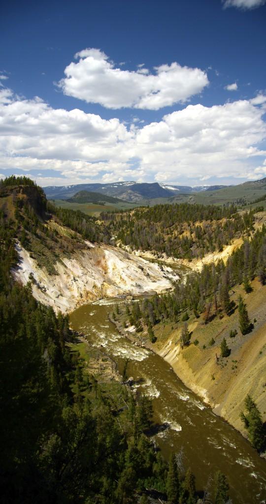 Grand Canyon of the Yellowstone, YNP