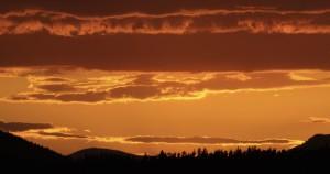 After sunset, YNP