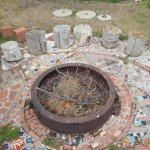 fire pit at the Archie Bray Foundation for the Ceramic Arts, Helena, Montana