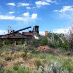 brick kilns at the Archie Bray Foundation for the Ceramic Arts, Helena, Montana