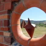 sculptures at the Archie Bray Foundation for the Ceramic Arts, Helena, Montana