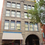 the Atlas building in the walking mall, Helena, Montana