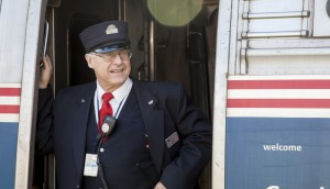 They really do dress like this. From amtrakdowneaster.com