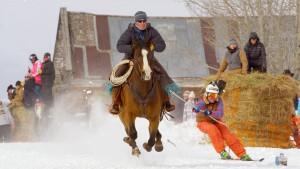 Real Montana Skijoring