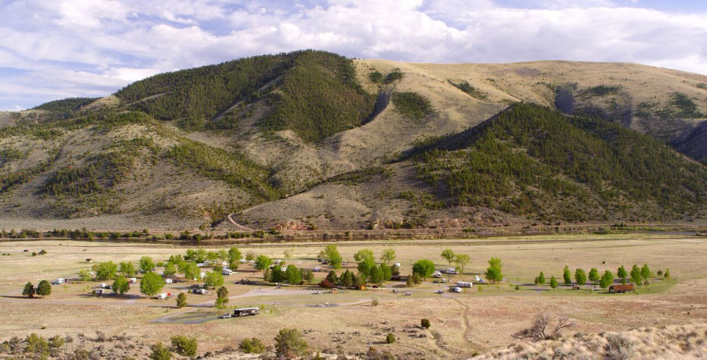 Lewis and Clark Caverns Campground