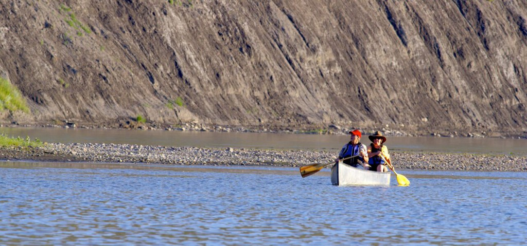 Canoe on the Missouri River