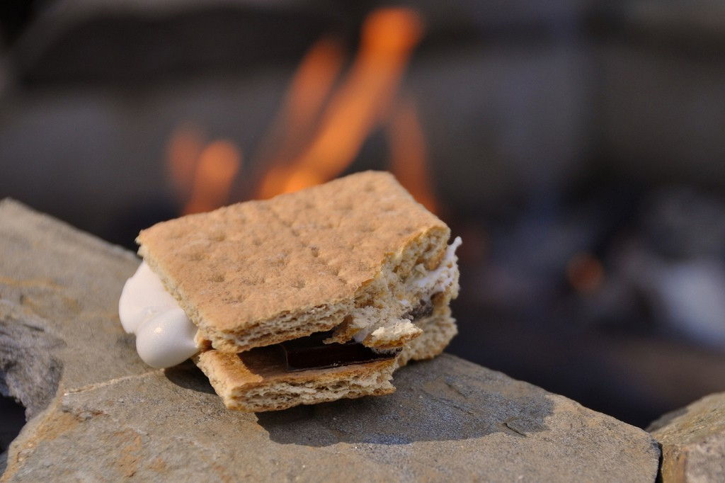 """First S'more of the Year"" by Stephen Ritchie. From flickr.com"