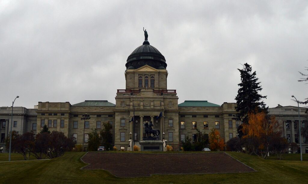 Capitol Building in Helena